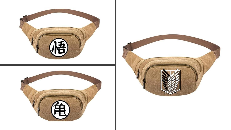 Goku Tresbon Products Dragon Ball Z Anime Travel Fanny Pack Waist Belt Bag