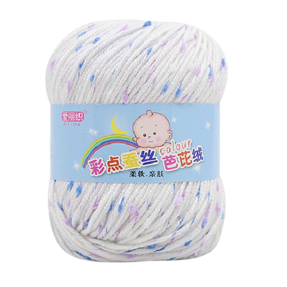 Fxbar 50g Hand Knitting Knicker Yarn Crochet Soft Scarf Sweater Hat Yarn Knitwear Wool