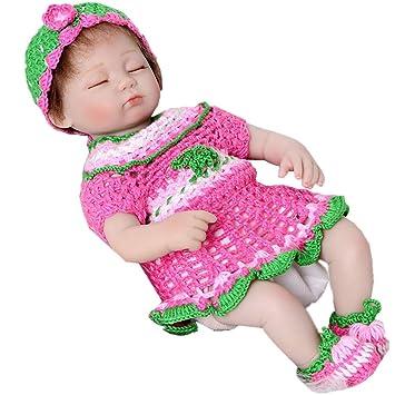 Amazon.es: KEIUMI Muñeca de bebé reborn de 17 pulgadas realista ...