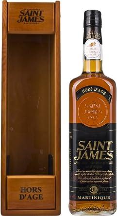Saint James Hors D age Rum (1 x 0,7 l): Amazon.es ...