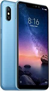 Xiaomi Redmi Note 6 Pro Dual SIM - 64GB, 4GB RAM, 4G LTE, Blue - International Version