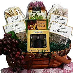 Art of Appreciation Gift Baskets Mama Mia Grand Italian Pasta Feast Gourmet Food Gift Basket