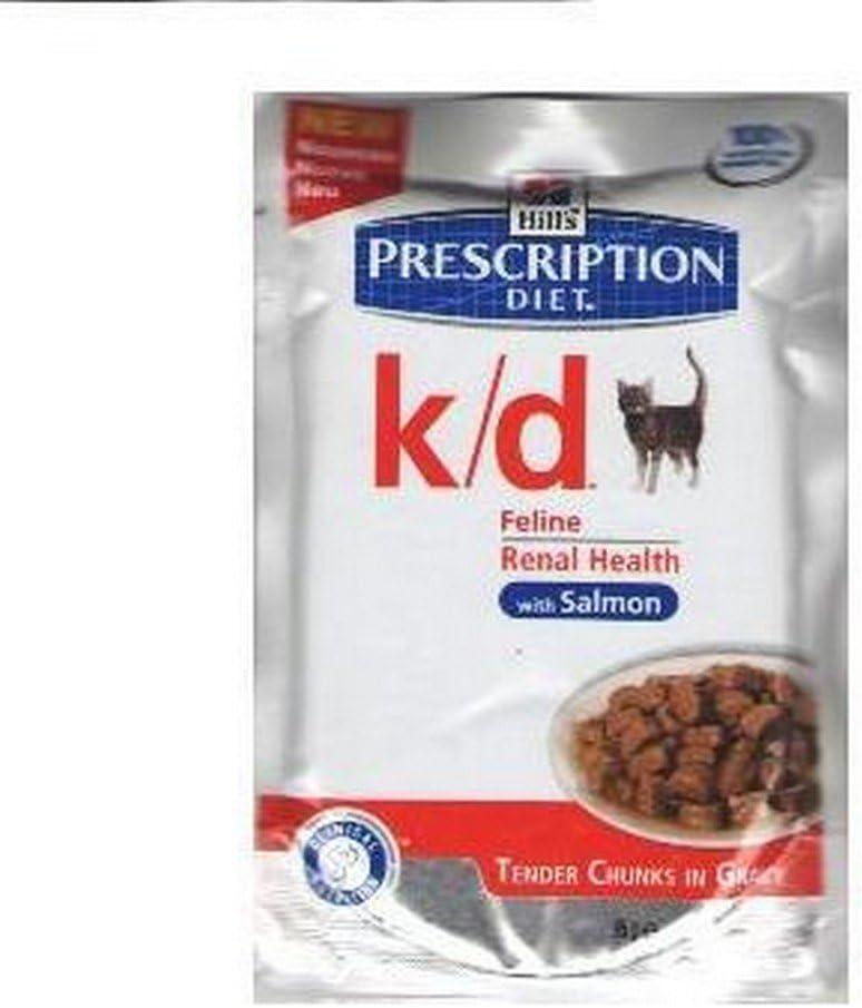 Hill?s Pet Nutrition - Hill's Prescription Diet Feline k/d - 133 - 12 x 85 Grs.(Bolsita) Pack Ahorro