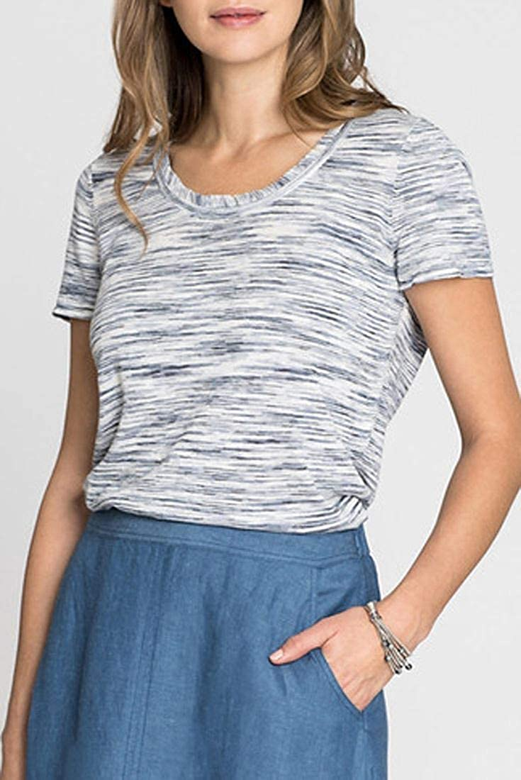 Blue Mix NIC+ZOE Fade Out Tee