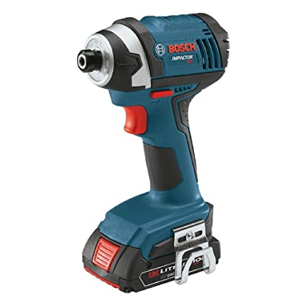 Amazon.com: Bosch 18-Volt 1/4 in. Hex Compact Tough Impact ...