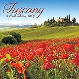 Tuscany 2017 Wall Calendar
