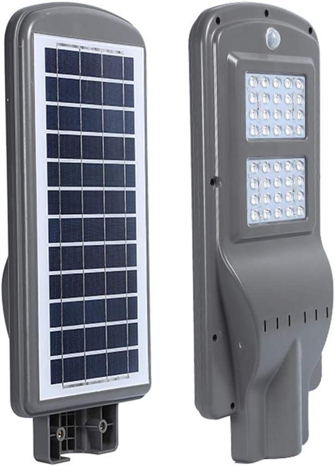 コンパクトLED屋外のソーラー街路灯、40Wエリアセキュリティ照明、IP65防水ナイト照明夕暮れから夜明け照らすホームの道コートヤードへ (Color : 6500K (cold white))