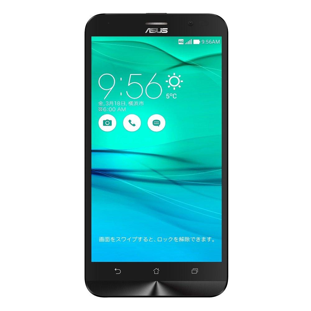 ASUS ZenFone Go SIMフリースマートフォン (ブラック/5.5インチ)【日本正規代理店品】(Snapdragon400/2GB/16GB/au VoLTE対応)ZB551KL-BK16/A