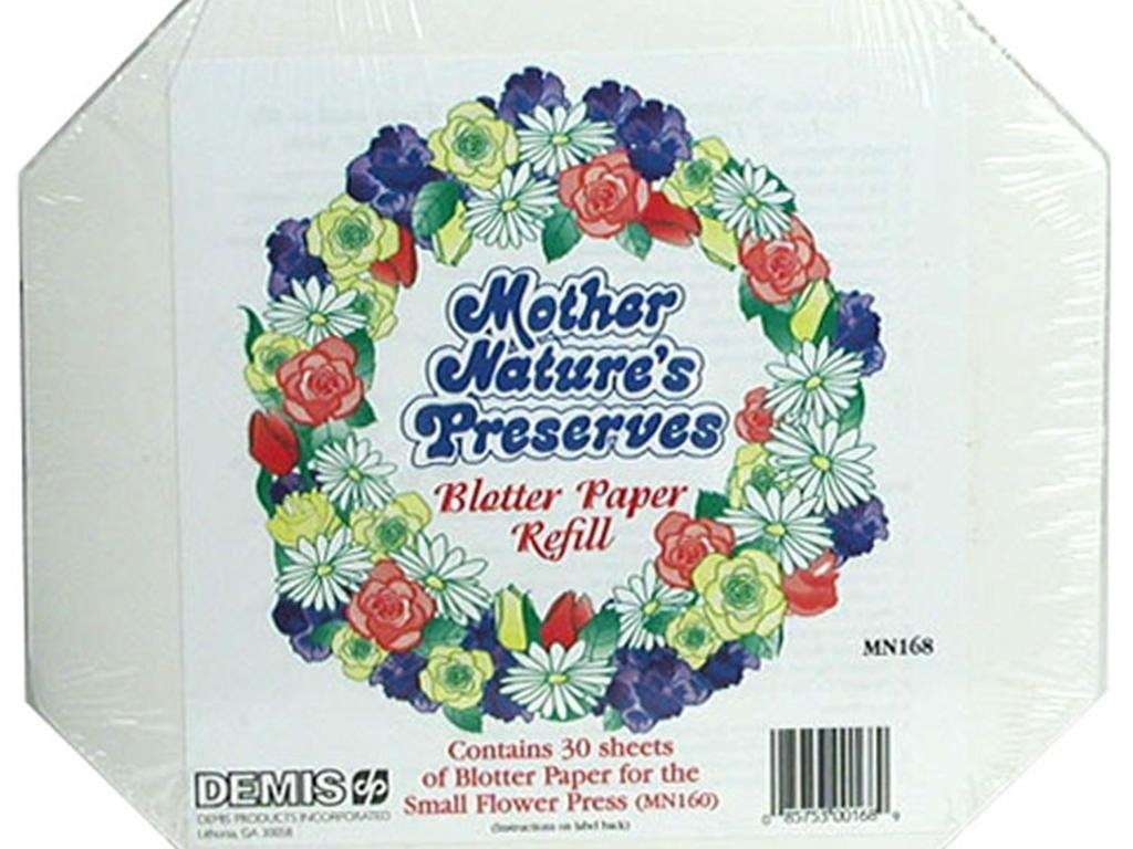 Amazon Mother Natures Preserves Blotter Paper Sm Home Kitchen
