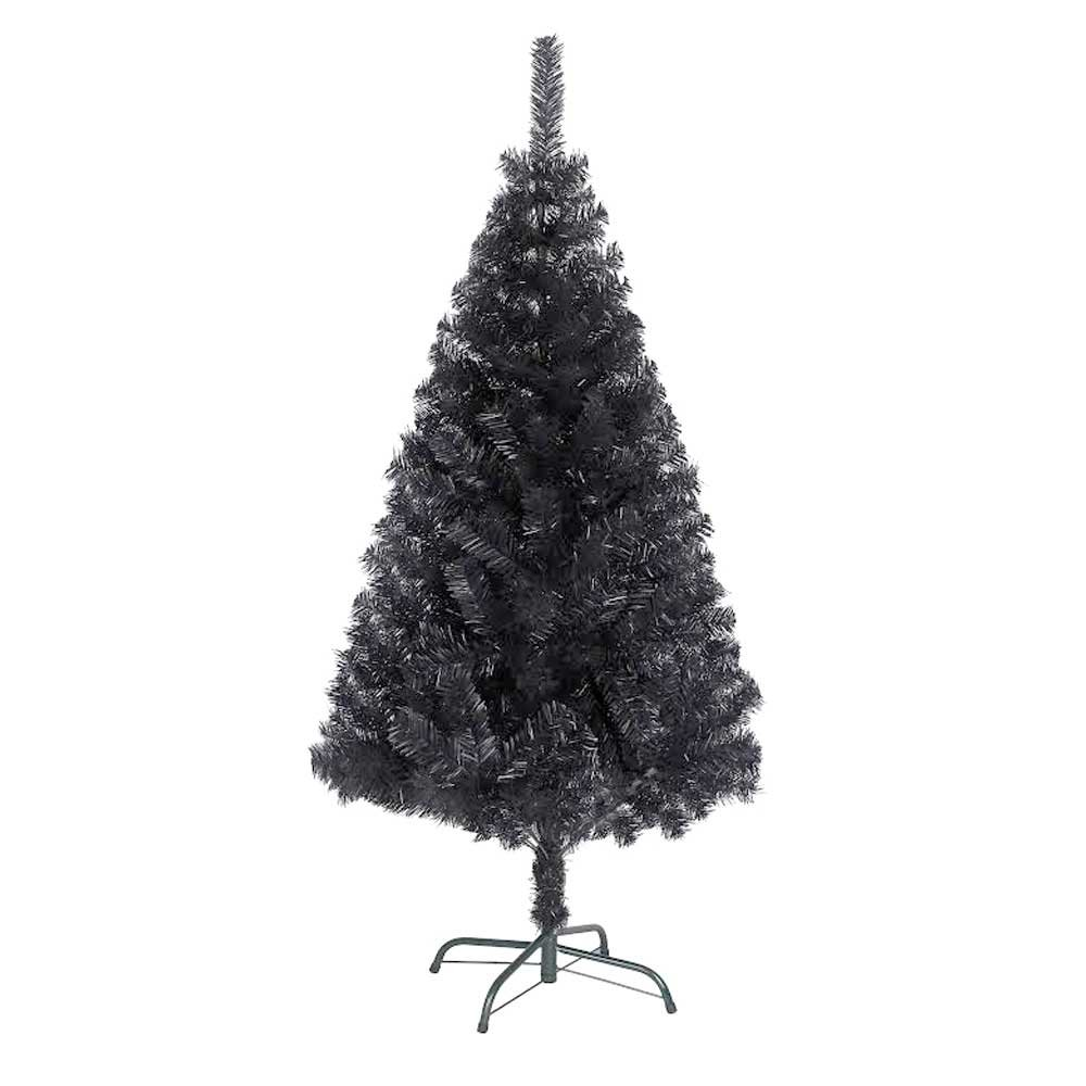 Bold Black Christmas Xmas Tree 150cm / 5ft