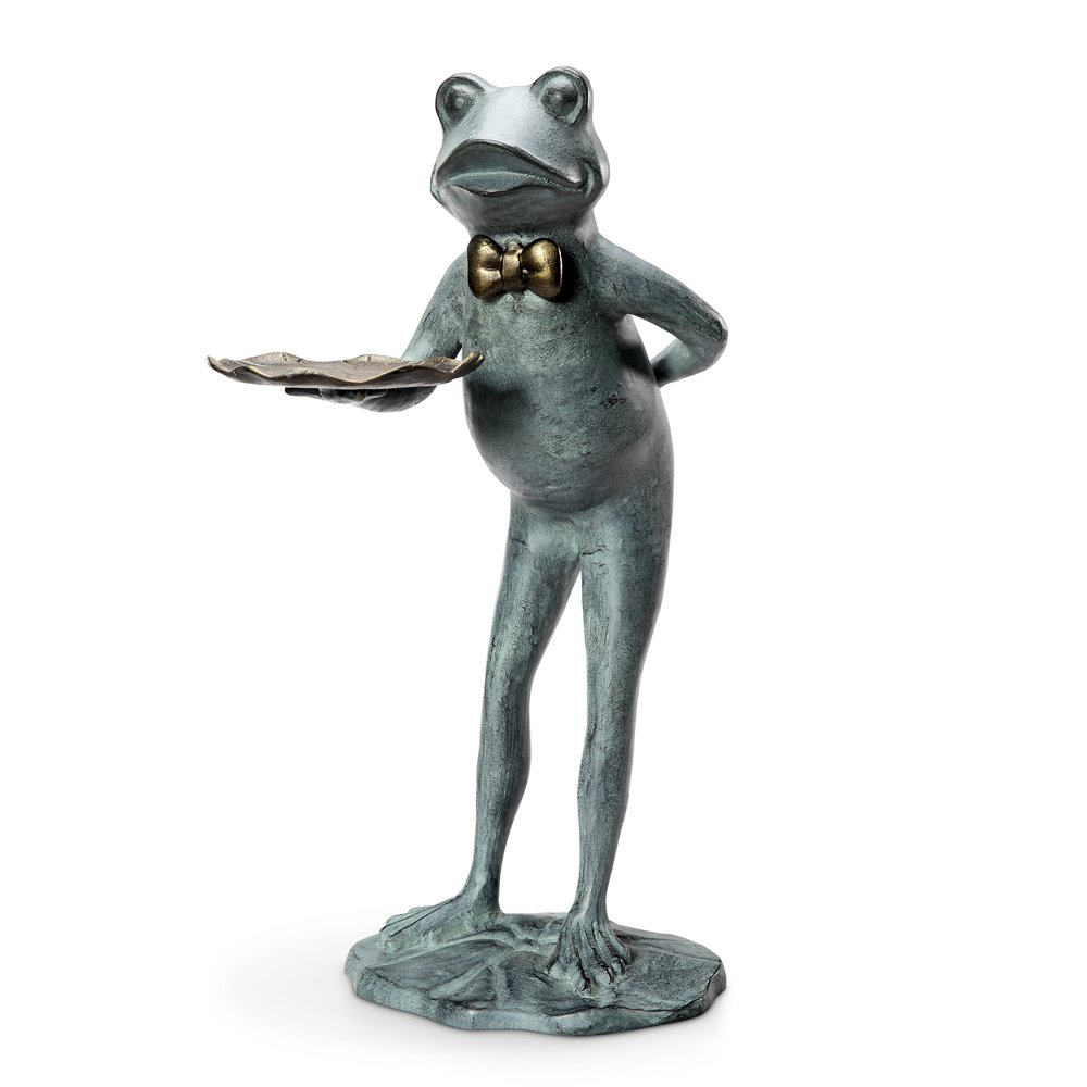 Frog Butler Birdfeeder / Garden Table