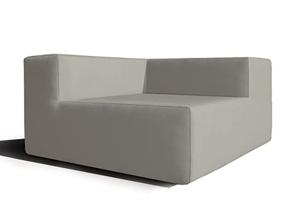 Mueble de jardín Modular, sofá Exterior en Tela Impermeable ...