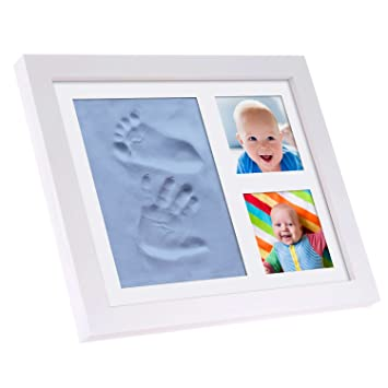 BABYSIMBA Baby Presents - Baby hand and footprint kit kids Picture ...