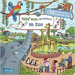 """Wimmelbuch """"Im Zoo"""": Zum Hören, Suchen und Mitraten"""