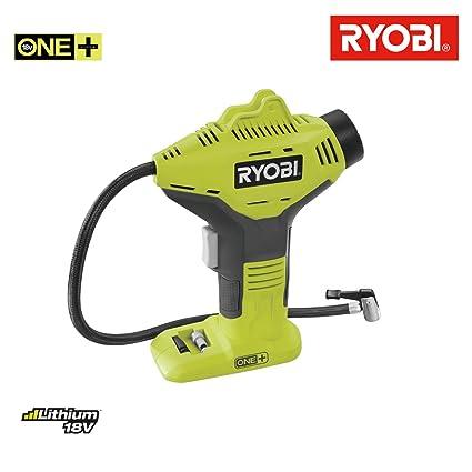 Ryobi 5133003931 Inflador de alta presión de 18V, sin batería Verde Pistacho