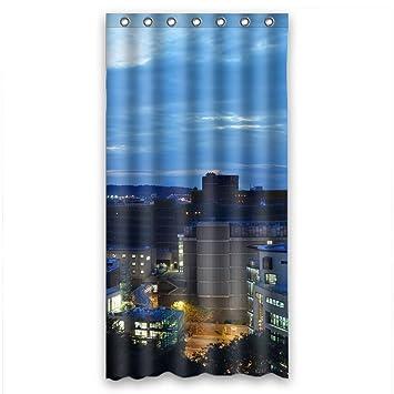 Amazon.com: Home Fashion Car Shower Curtain, Size Width * Height ...