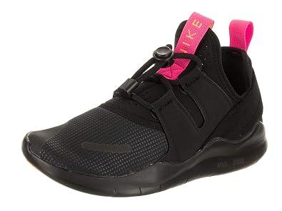 6a287134c73c5 Nike Women s Free Rn CMTR 2018 Black Black Pink Blast Running Shoe 6 Women  US
