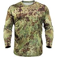 Kryptek Stalker Long Sleeve Cotton T-Shirt