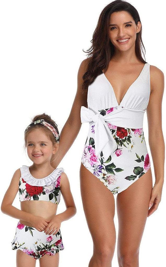 Bikini Ropa de baño Mujer Cintura Alta Traje de baño una Pieza ...