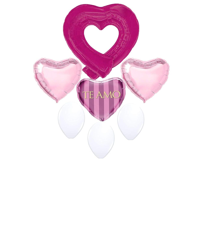 Te Amo Balloon BouquetI Love You