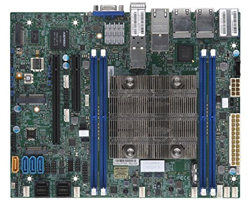 Ethernet Motherboard Supermicro (Supermicro MBD-X11SDV-8C-TP8F-O MBD-X11SDV-8C-TP8F - FLEXATX - INTEL XEON PROCESSOR D-2146NT - SYSTEM ON CHIP -)