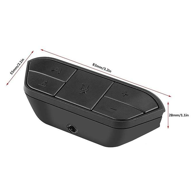 Kongqiabona Adaptador de Auriculares estéreo Negro Adaptador de Auriculares Adaptador de Auriculares para el Control inalámbrico del Juego de Microsoft Xbox ...