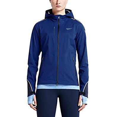 Nike De Noirbleu Light Femme Pour Hypershield Course Veste Jacket A4rRqA