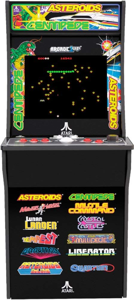Arcade1Up Deluxe Edition 12-in-1 Arcade Cabinet with Riser, 5 feet by Arcade1Up (Image #3)