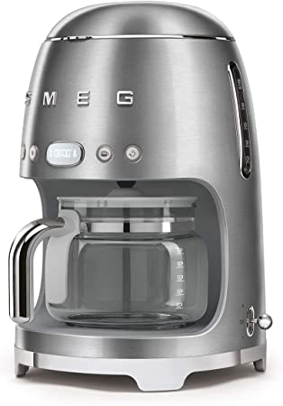 Smeg DCF02SSEU Cafetera de filtro de acero inoxidable 18/8: BLOCK ...