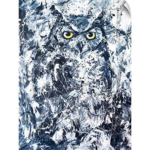 - CANVAS ON DEMAND Joseph Marshal Foster Wall Peel Wall Art Print Entitled Owl II 23