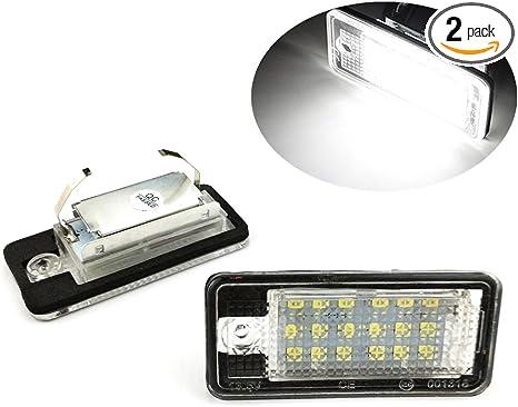 Audi originales a4 8e b6 b7 a6 4f LED iluminación de la matrícula matrícula luces