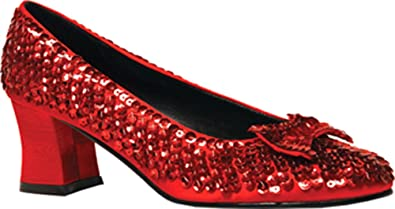 96222abb8ae3 Image Unavailable. Image not available for. Color  Womens Red Sequin Shoes  ...
