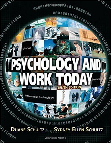 TEST BANK Psychology and Work Today, 10th Edition