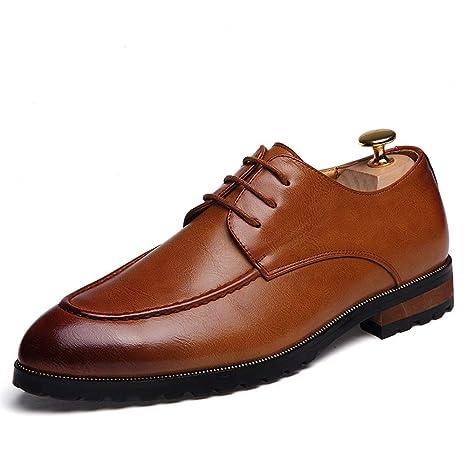 HILOTU Zapatos Formales Al Aire Libre para Hombres Zapatos ...