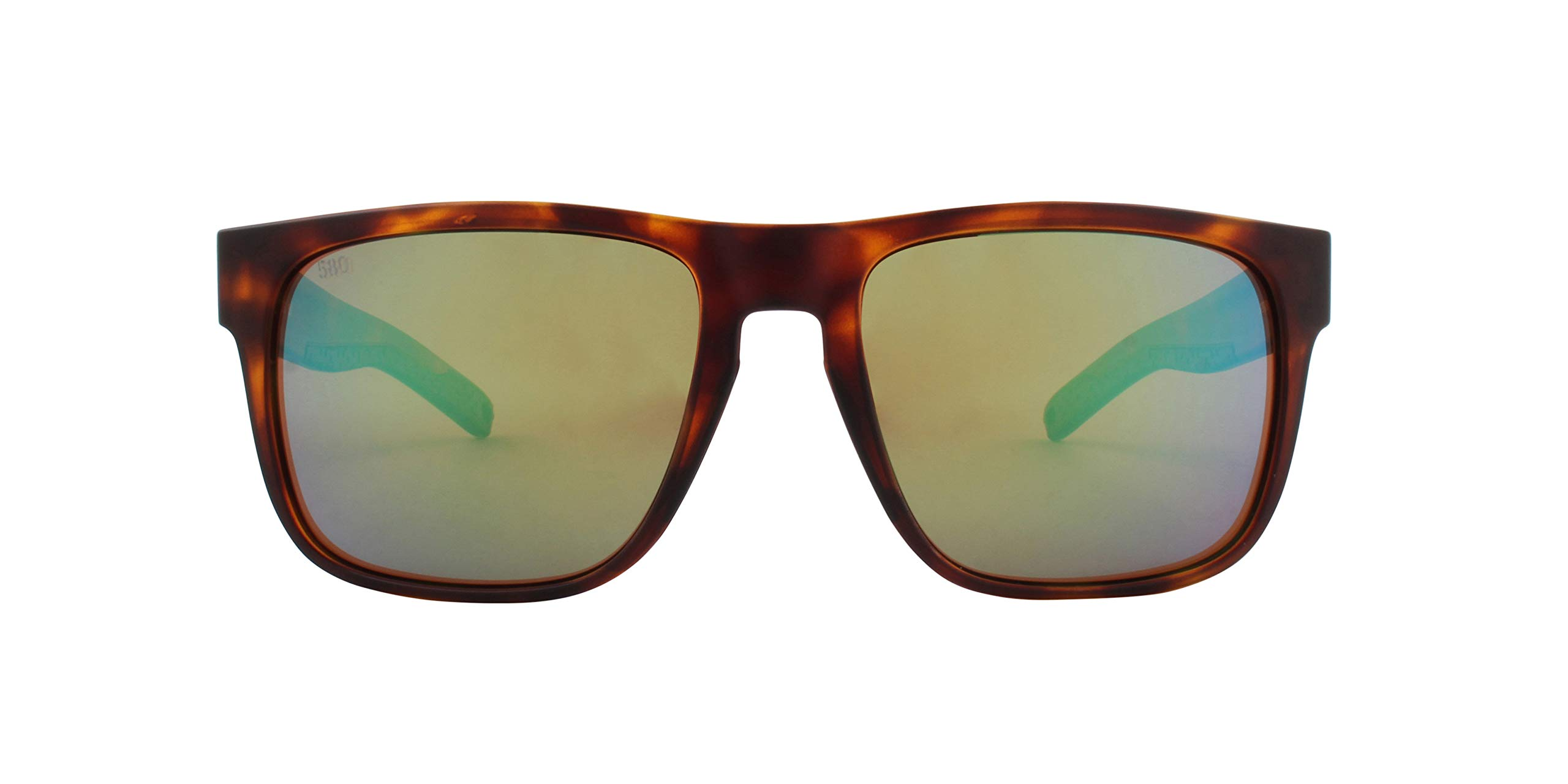 Costa Del Mar Spearo Sunglasses Matte Tortoise 580G Polarized Green Mirror Glass         by Costa Del Mar