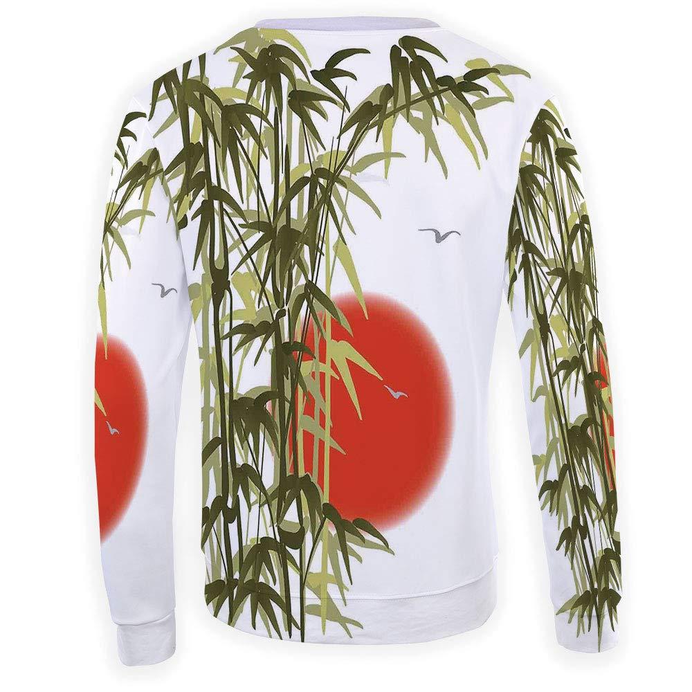 Mens Crewneck Bamboo Sweatshirt
