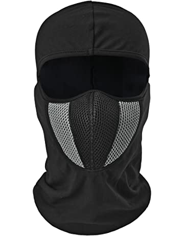 White Balaclava//Hood for Karting 100/% Cotton BreathablevUnder helmet