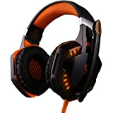 Headset Gamer Fone 7.1 Kotion Each P/ Ps4, XBox One, Pc - Laranja