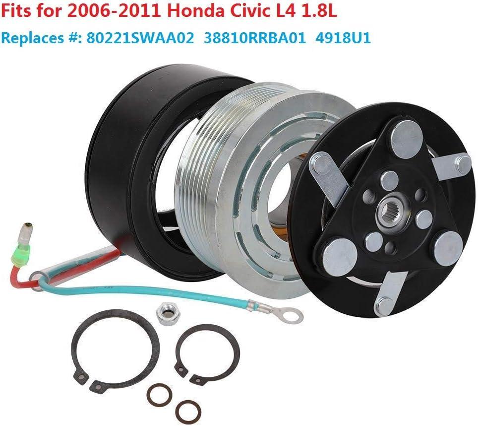 AC A//C COMPRESSOR CLUTCH COIL HONDA CIVIC 1.8 L 2006 2007 2008 2009 2010 2011