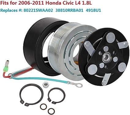 AC COMPRESSOR CLUTCH KIT for HONDA CIVIC 1.8 L 2006 2007 2008 2009 2010 2011 A//C