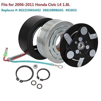 NEW AC A//C COMPRESSOR FITS HONDA CIVIC 1.8L 2006 2007 2008 2009 2010 2011