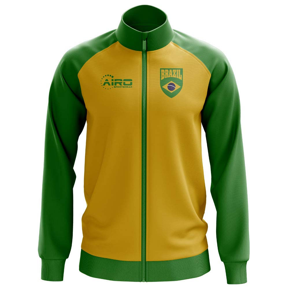 Airo Sportswear Brazil Concept Football Track Jacket (Yellow)