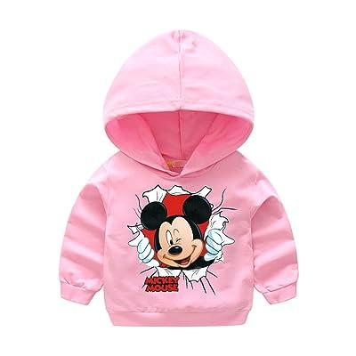 Lovelygift Kids Cute Mouse Hoodie Outwear Jacket