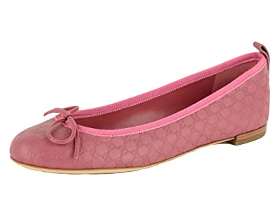 Amazon.com  Gucci Shoes Micro Guccissima Leather Ballerina Flats ... af17672278f8