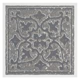 Achim Home Furnishings WTV408AC10 Nexus Accent Gray 4 inch x 4 inch Self Adhesive Vinyl Wall Tile, 27 Tiles/3 Sq'.