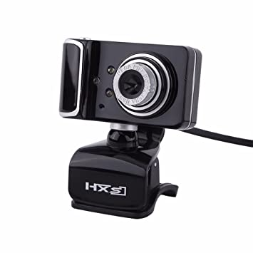 Efanr 16,0 MP Pixel Rotatable HD Digital cámara Web micrófono integrado con 3 LED