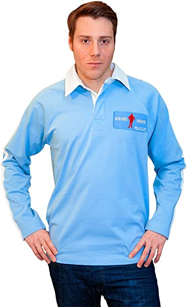 ACE ONE MONACO - Polo - para Hombre Bleu Uni X-Small ...
