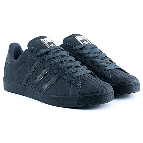 adidas Skateboarding Superstar Vulc ADV Solid Grey Core Nero Scarpe Skate, Bianco (White)