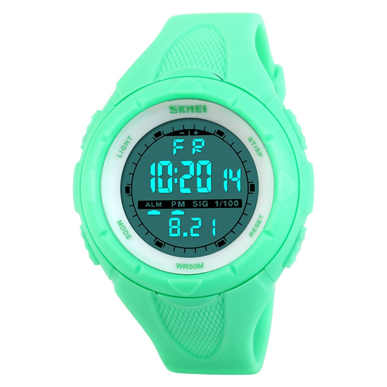 スタイリッシュなアウトドアテーブル/クリエイティブパーソナリティメンズLarge Dial /学生防水watch-h B06XCH7XFL