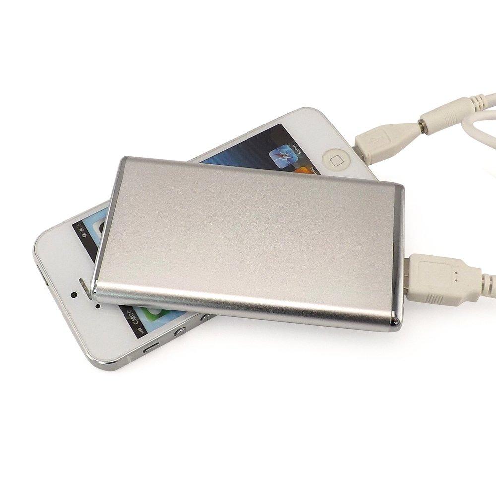 Luz posición 4000 mAh batería externa móvil cargador de ...